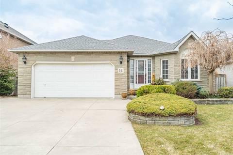 House for sale at 14 Creanona Blvd Hamilton Ontario - MLS: X4725877