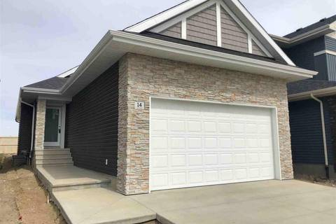 House for sale at 14 Edison Dr St. Albert Alberta - MLS: E4139561