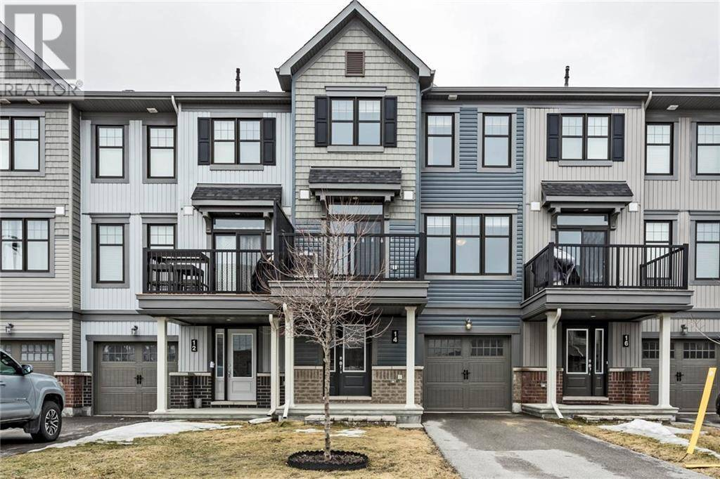 Townhouse for sale at 14 Fallengale Cres Ottawa Ontario - MLS: 1181281