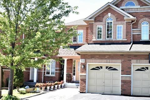 Townhouse for sale at 14 Flatfield Terr Toronto Ontario - MLS: E4547300
