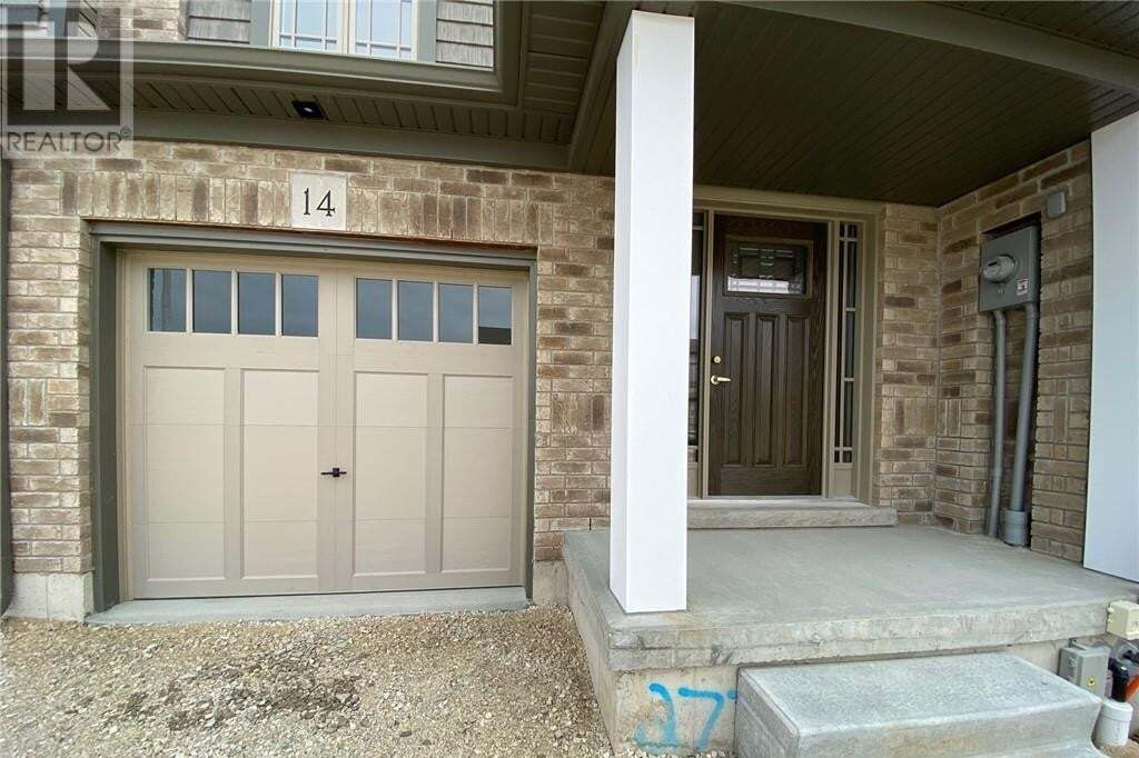 Townhouse for rent at 14 Foley Cres Collingwood Ontario - MLS: 258148
