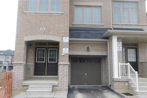 Townhouse for sale at 14 Goulston St Brampton Ontario - MLS: W4731901