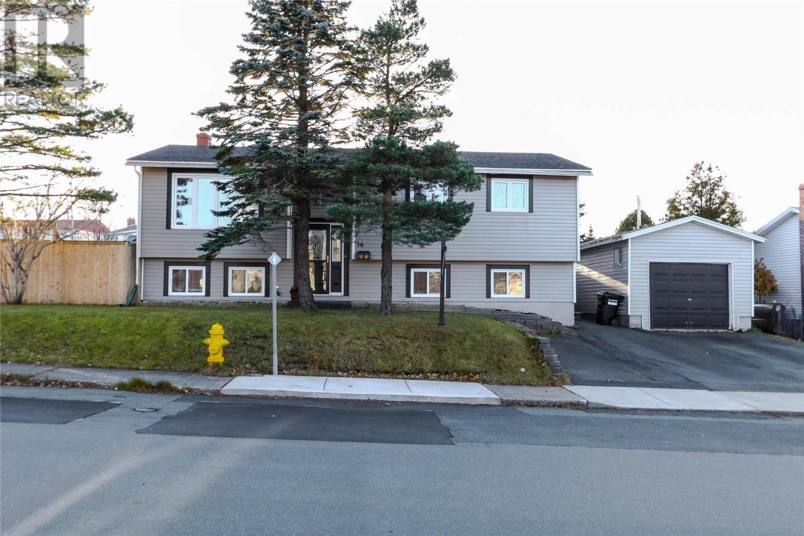 House for sale at 14 Grieve St St. John's Newfoundland - MLS: 1207300
