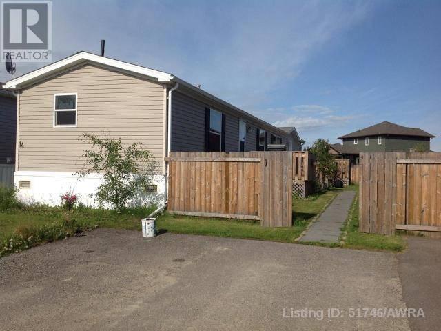 Residential property for sale at 14 Gunderson Dr Whitecourt Alberta - MLS: 51746