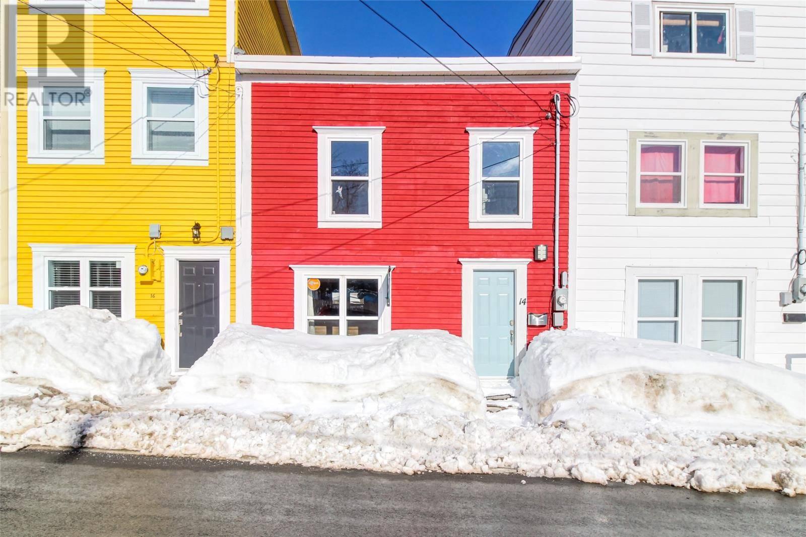 House for sale at 14 Hayward Ave St. John's Newfoundland - MLS: 1210066