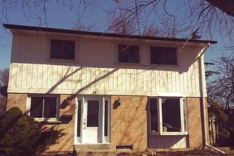 House for sale at 14 Jackman Dr Brampton Ontario - MLS: W4729984