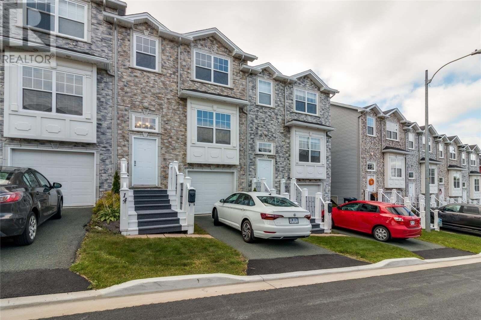 House for sale at 14 King Edward Pl St. John's Newfoundland - MLS: 1222633
