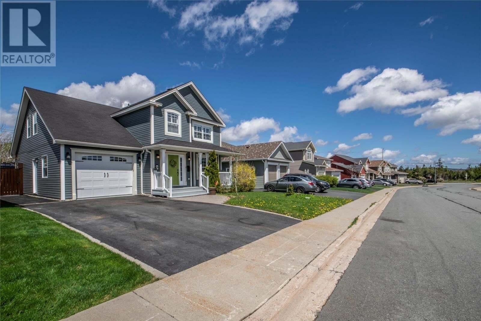 House for sale at 14 Mark Nichols Dr St. John's Newfoundland - MLS: 1214641