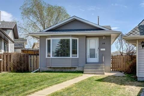 House for sale at 14 Martingrove Me Northeast Calgary Alberta - MLS: C4246225
