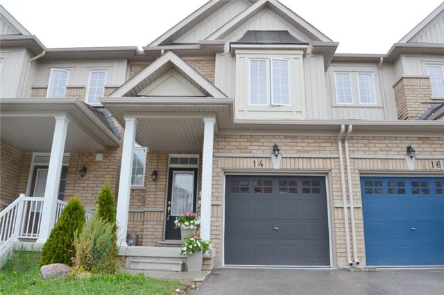 For Sale: 14 Matthewson Avenue, Bradford West Gwillimbury, ON | 3 Bed, 3 Bath Townhouse for $559,900. See 20 photos!