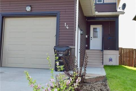 Townhouse for sale at 14 Mckay Blvd Blackfalds Alberta - MLS: ca0156869