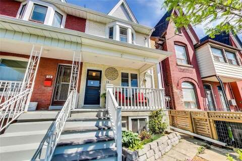 Townhouse for sale at 14 Moutray St Toronto Ontario - MLS: C4780491