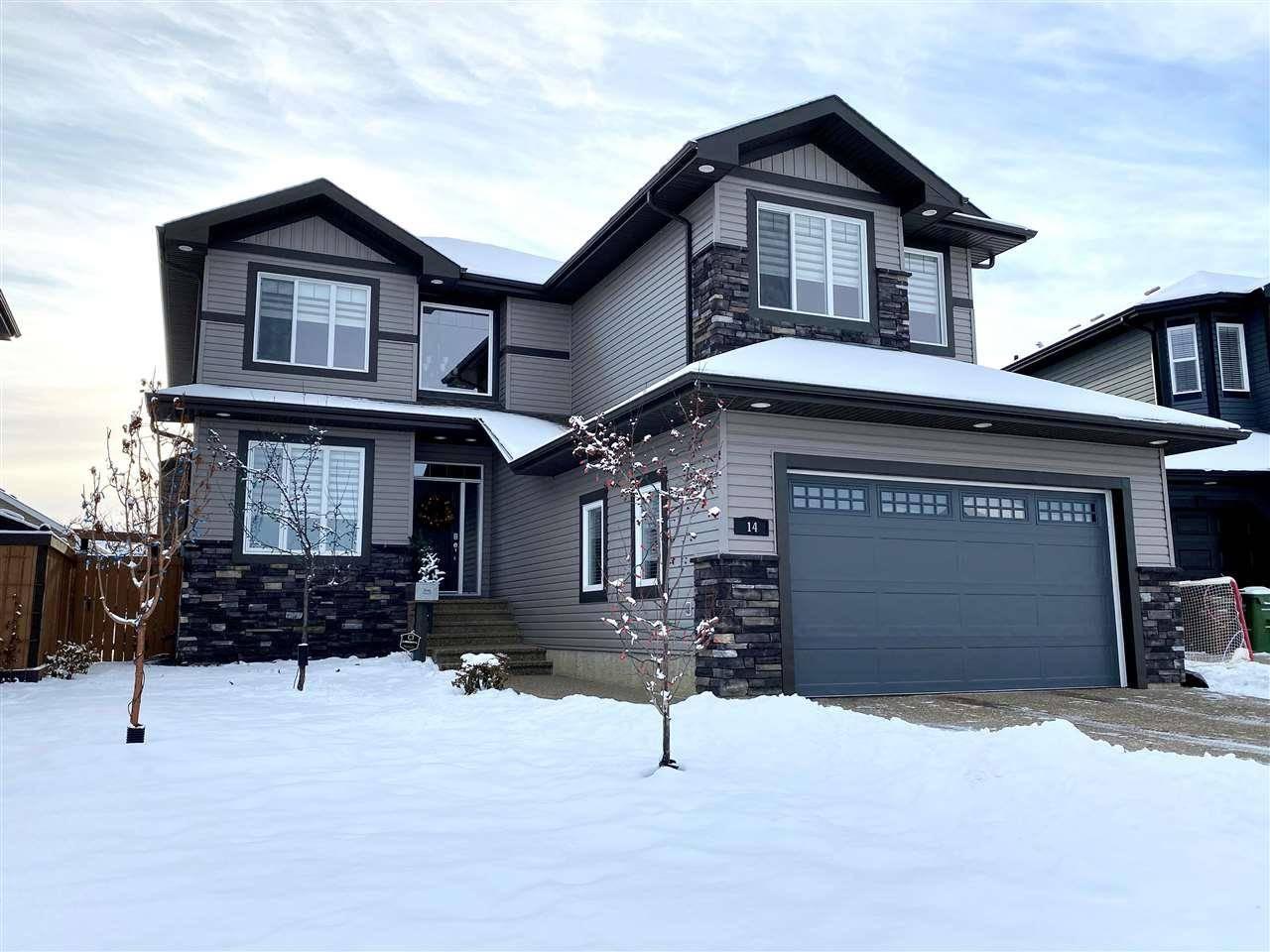 House for sale at 14 Noble Cs St. Albert Alberta - MLS: E4174263