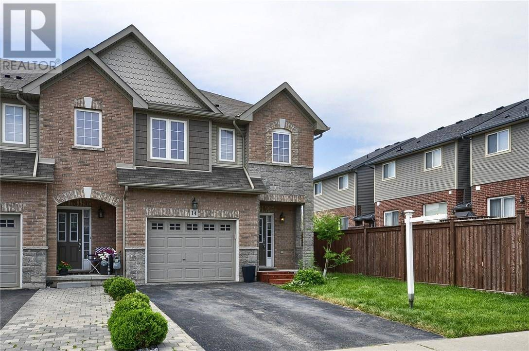 Townhouse for sale at 14 Palacebeach Tr Stoney Creek Ontario - MLS: 30749946