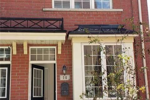 Townhouse for rent at 14 Raffeix Ln Toronto Ontario - MLS: C4571008