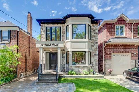 House for sale at 14 Rolph Rd Toronto Ontario - MLS: C4627544