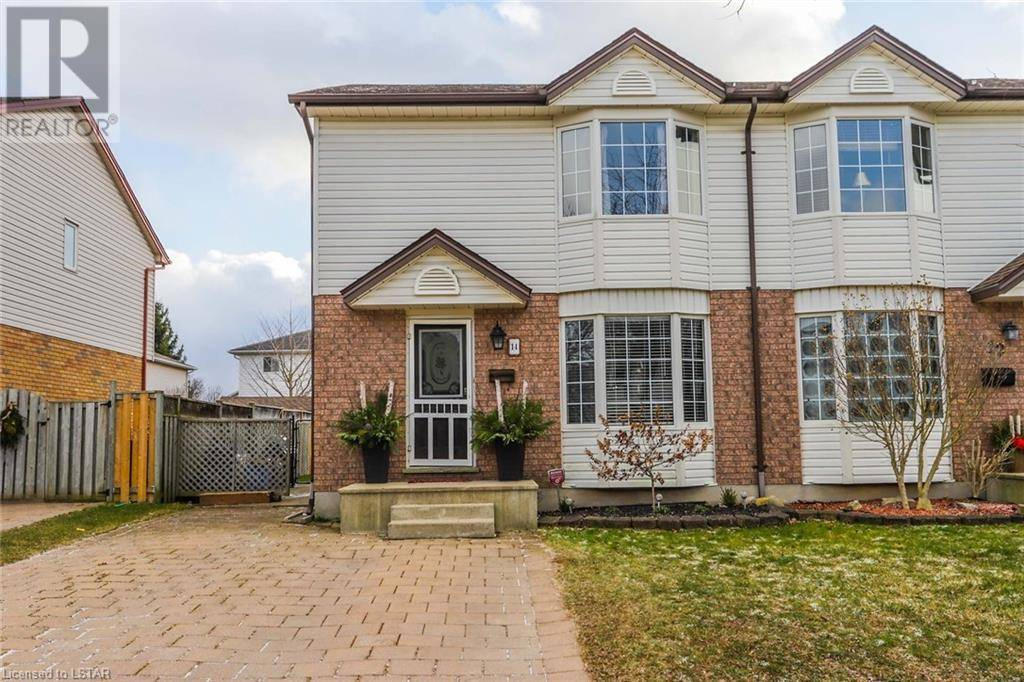 Residential property for sale at 14 Roman Cres London Ontario - MLS: 237605
