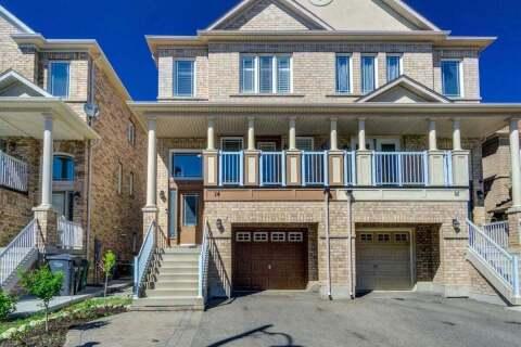 Townhouse for sale at 14 Saint Grace Ct Brampton Ontario - MLS: W4811210