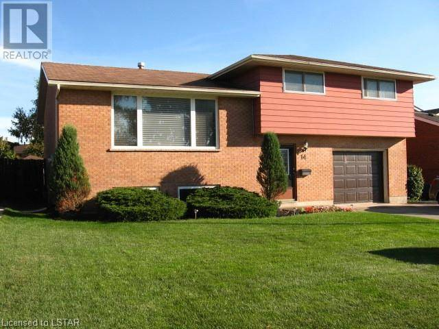 House for sale at 14 Sharpe Dr Strathroy Ontario - MLS: 223426