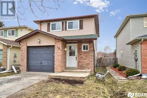 House for sale at 14 Sinclair Ct Barrie Ontario - MLS: 30725836