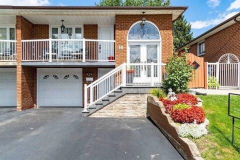Townhouse for rent at 14 Skelton Blvd Brampton Ontario - MLS: W4947708