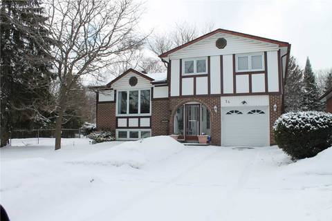 House for sale at 14 Springdale Dr Barrie Ontario - MLS: S4387260