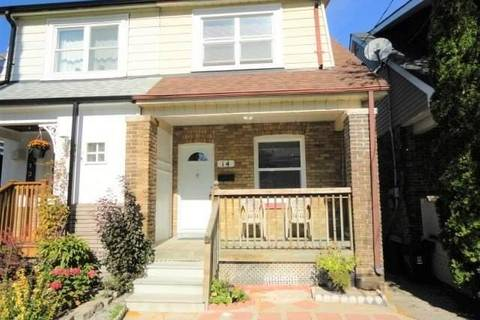 Townhouse for sale at 14 Stephenson Ave Toronto Ontario - MLS: E4601558
