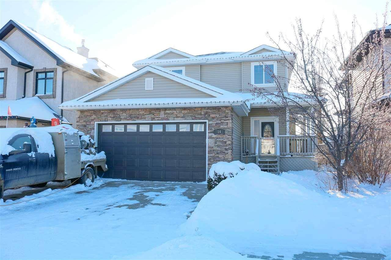 House for sale at 14 Willowbend Pl Stony Plain Alberta - MLS: E4184461