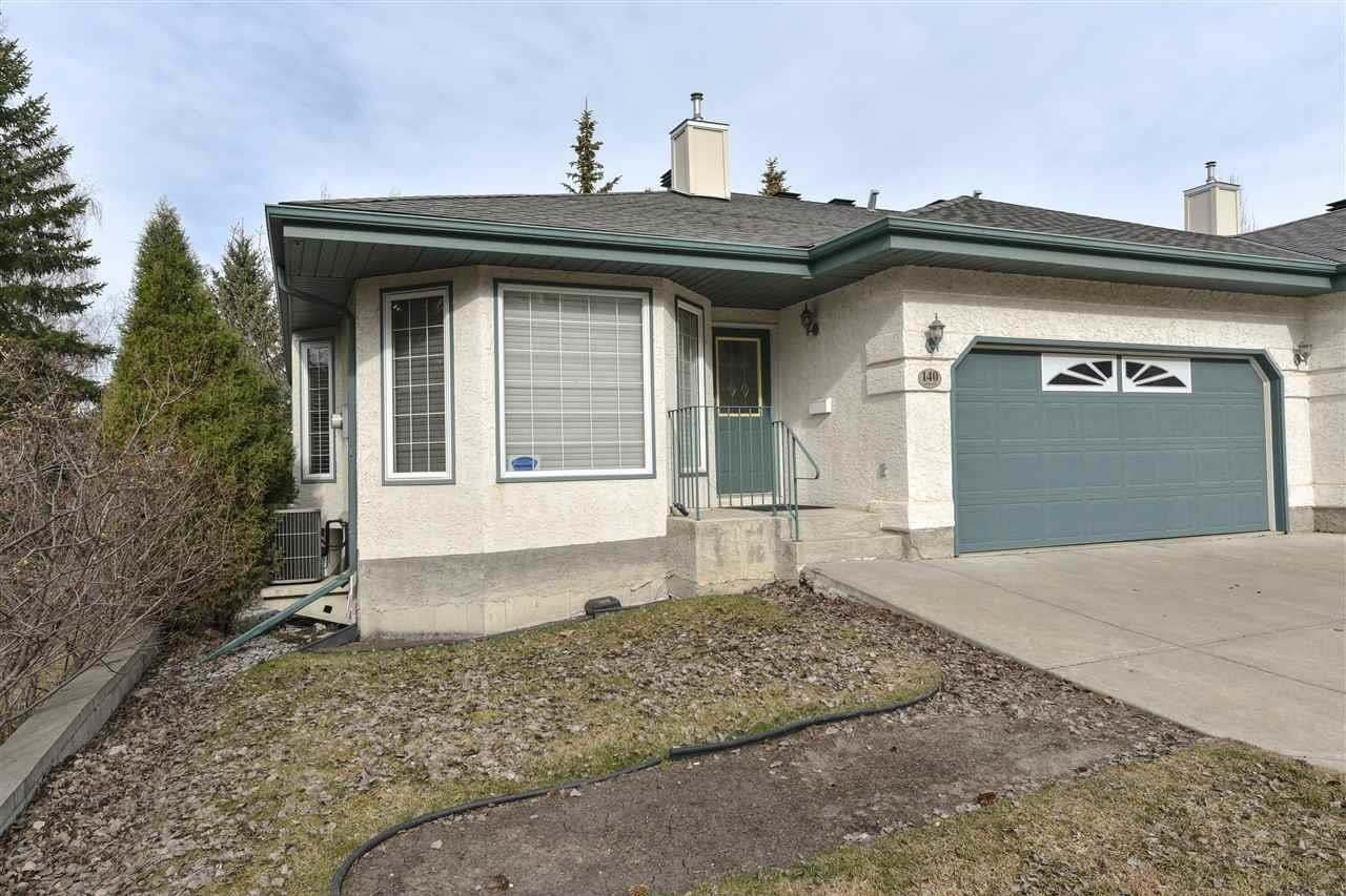 Townhouse for sale at 140 Haddow Cl NW Edmonton Alberta - MLS: E4195215