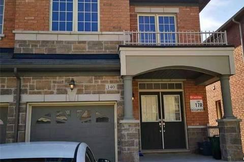 Townhouse for rent at 140 Memon Pl Markham Ontario - MLS: N4571507