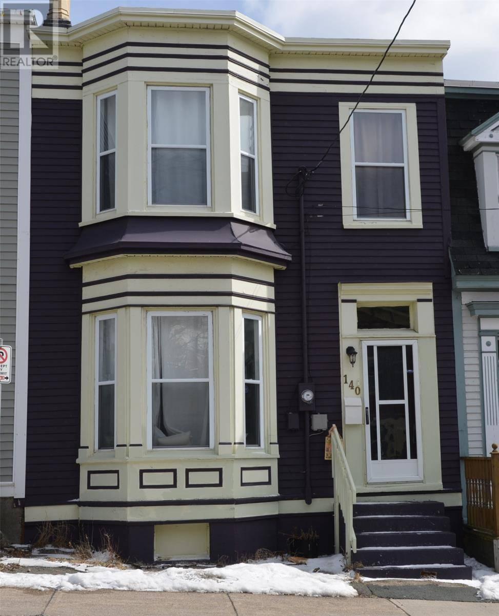 House for sale at 140 Patrick St St. John's Newfoundland - MLS: 1212040