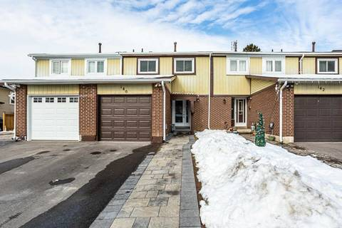 Townhouse for sale at 140 Quantrell Tr Toronto Ontario - MLS: E4691636