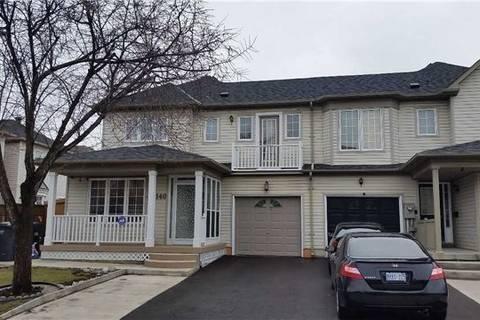Townhouse for rent at 140 Seaside Circ Brampton Ontario - MLS: W4538794