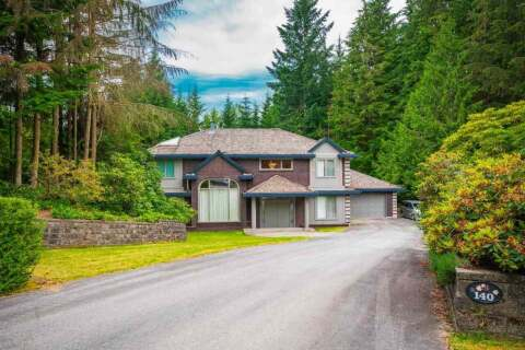 House for sale at 140 Seymour View Rd Anmore British Columbia - MLS: R2476008