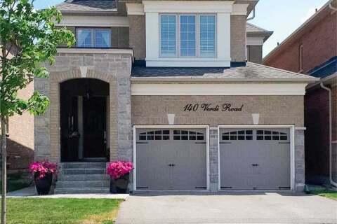 House for sale at 140 Verdi Rd Richmond Hill Ontario - MLS: N4842403