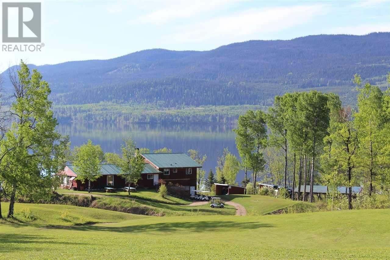 House for sale at 1400 E Francois Lake Rd Fraser Lake British Columbia - MLS: R2457715