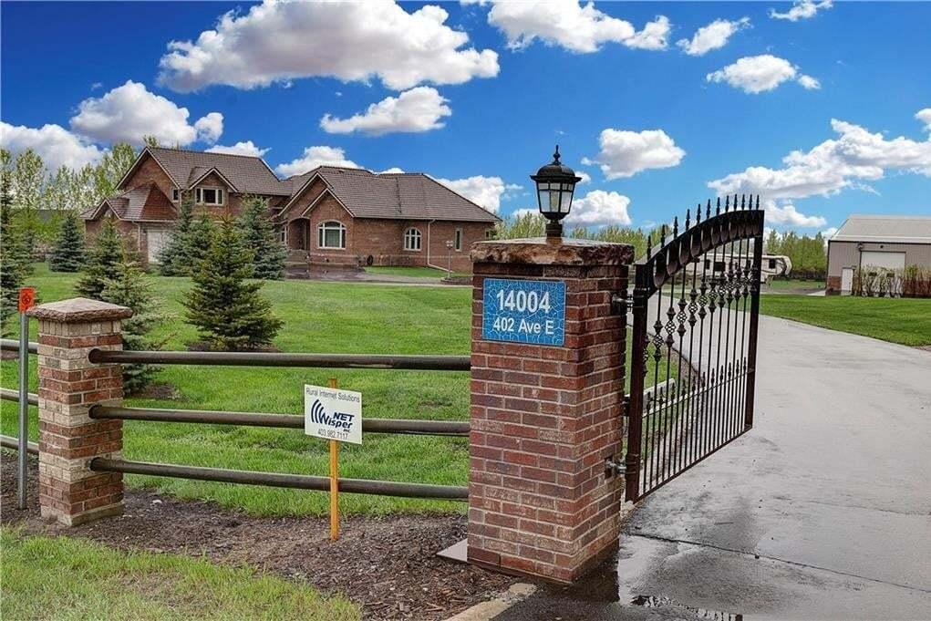 House for sale at 14004 402 Av E Rural Foothills M.d. Alberta - MLS: C4296267
