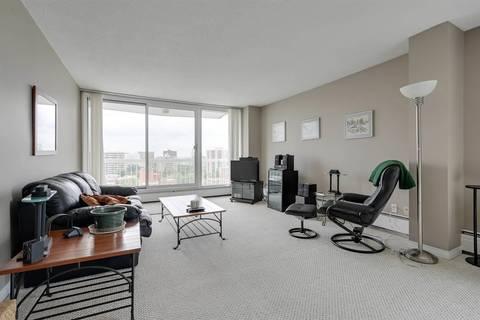 Condo for sale at 9835 113 St Nw Unit 1401 Edmonton Alberta - MLS: E4165375