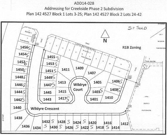 Residential property for sale at 1401 Wildrye Ct Cold Lake Alberta - MLS: E4179036