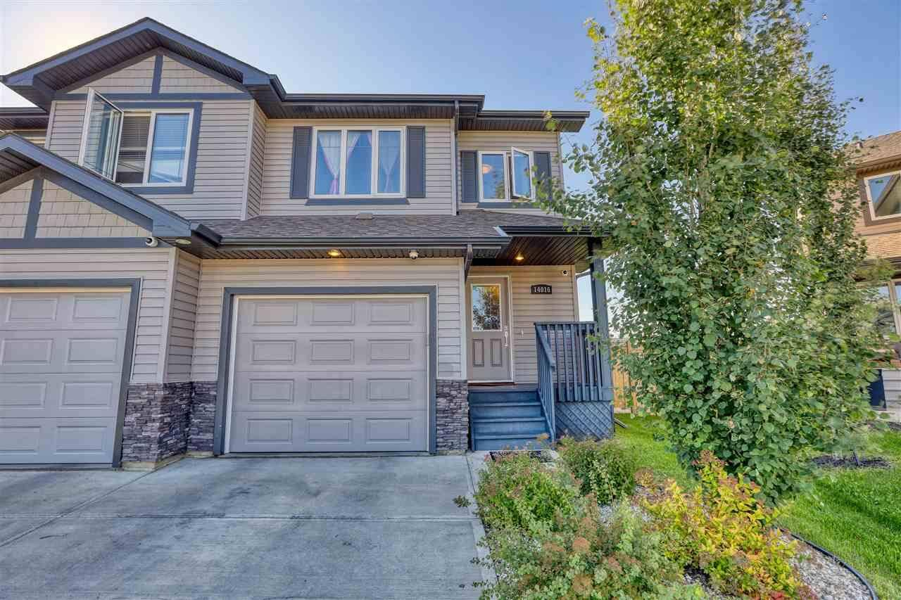 Townhouse for sale at 14016 164 Ave Nw Edmonton Alberta - MLS: E4172547