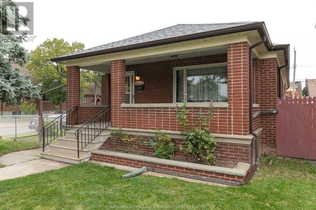 House for sale at 1402 Elsmere Ave Windsor Ontario - MLS: 20012962