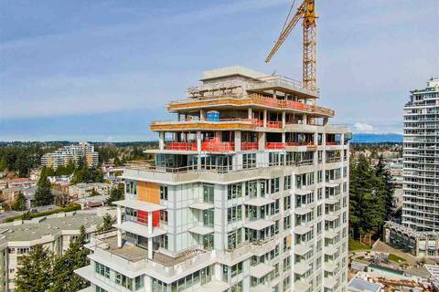 Condo for sale at 15165 Thrift Ave Unit 1403 White Rock British Columbia - MLS: R2451969