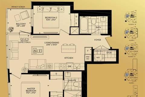 Apartment for rent at 88 Cumberland St Unit 1403 Toronto Ontario - MLS: C4713557