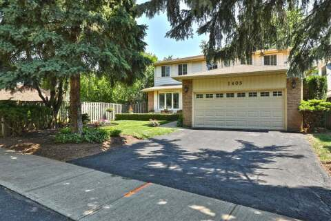House for sale at 1403 Kimberley Dr Oakville Ontario - MLS: W4821439