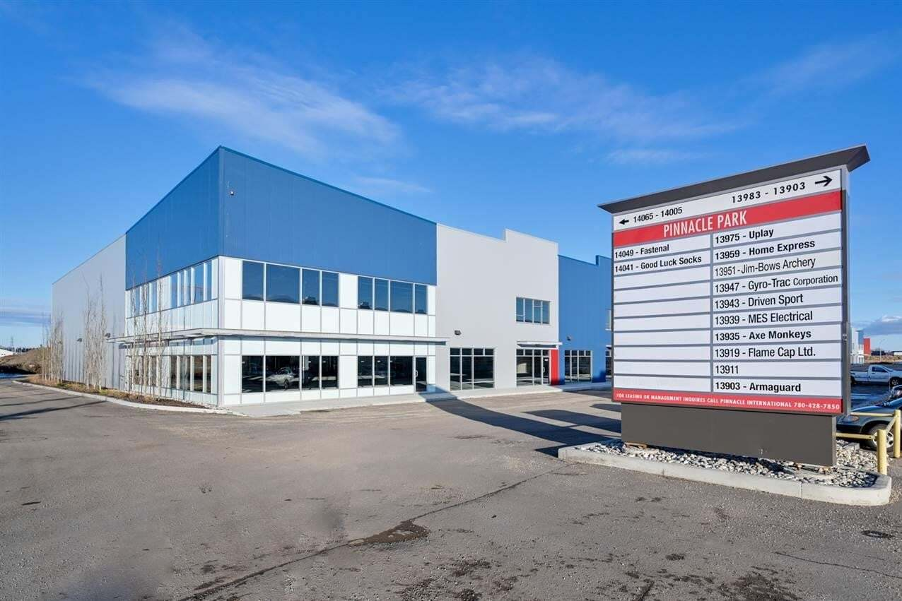 Commercial property for lease at 14041 156 St NW Edmonton Alberta - MLS: E4189624