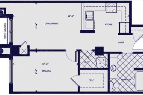 Condo for sale at 135 James St Unit 1405 Hamilton Ontario - MLS: X5054835