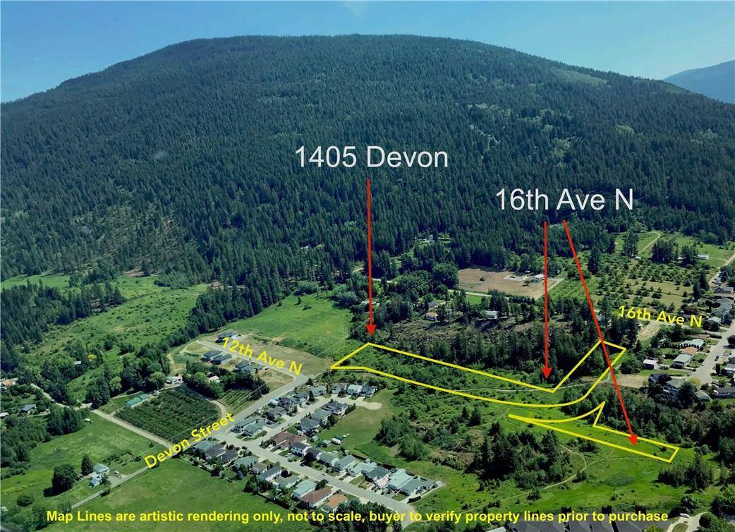 Home for sale at 1405 Devon Street N  Creston British Columbia - MLS: 2430640