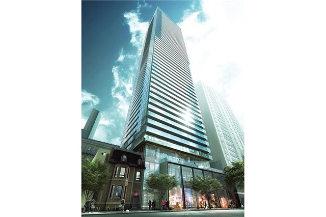 For Rent: 1406 - 15 Grenville Street, Toronto, ON | 0 Bed, 1 Bath Condo for $1,800. See 11 photos!
