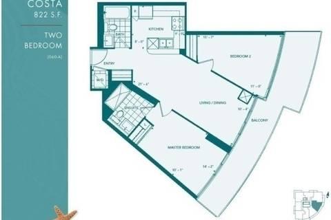 Apartment for rent at 15 Legion Rd Unit 1407 Toronto Ontario - MLS: W4460596