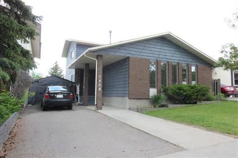 House for sale at 1408 Berkley Dr Northwest Calgary Alberta - MLS: C4254498